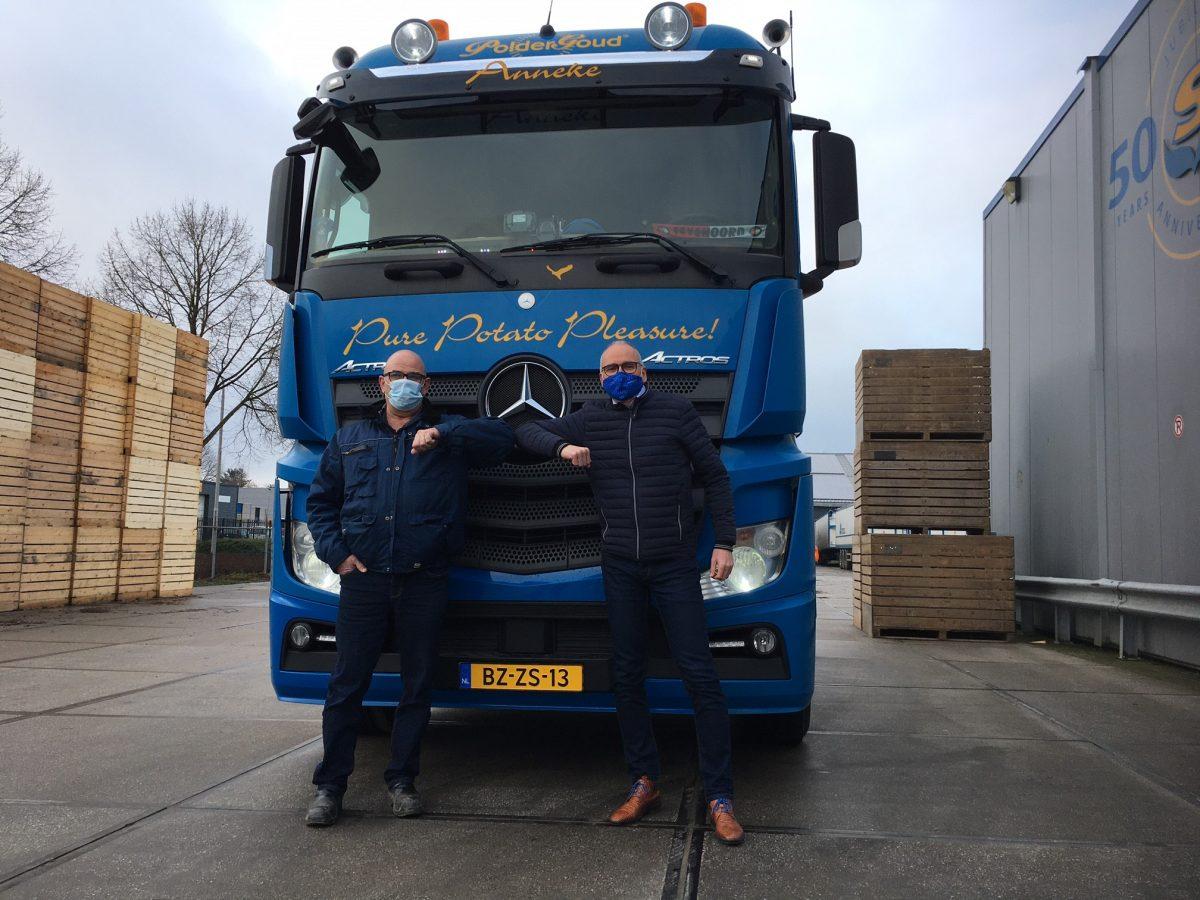 Jan Doppenberg 40 jaar bij Schaap Holland